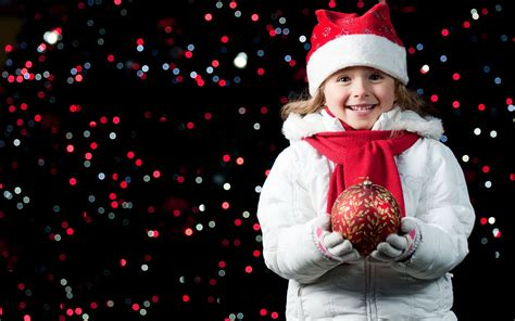 happy children over christmas hd photography wallpaper