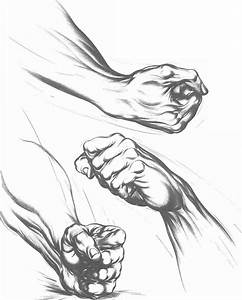Line Drawing Of Hands At Getdrawings