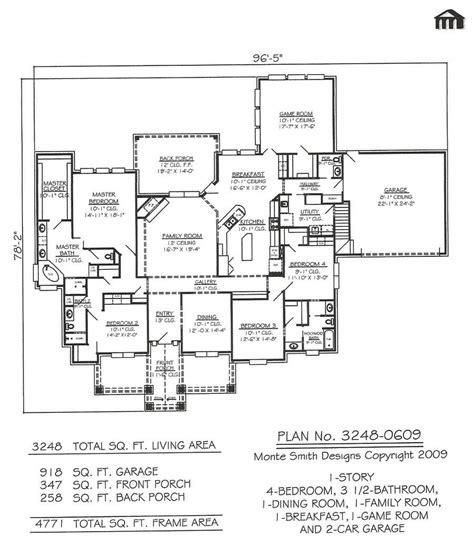 4 Bedroom 35 Bathroom House Plans  2018 House Plans