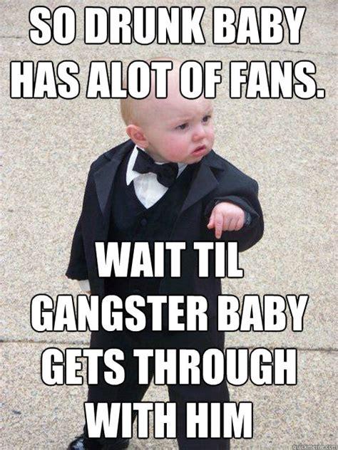 Gangster Baby Meme - mobster baby meme www imgkid com the image kid has it