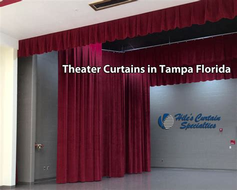theater curtains in ta hiles curtains specialties