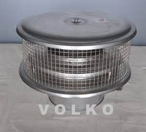 Air Cooled Chimney Cap