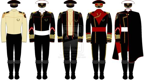 sailor collar a line dress a line drawing of a selection of officer 39 s uniforms in the
