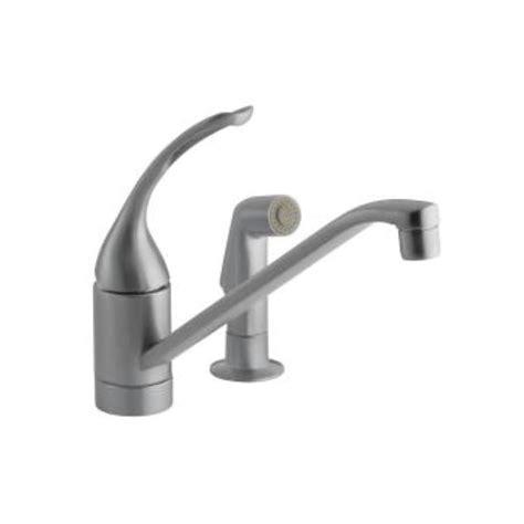kohler coralais kitchen faucet kohler coralais single handle pull out side sprayer