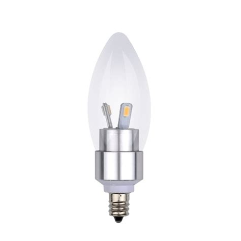 3w led candle bulb led candelabra light bulb 25 watt