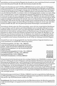 Rvg Abrechnung : richtige anwendung der brago geb hren bei r cktritt vom werkvertrag und anschlie ender ~ Themetempest.com Abrechnung