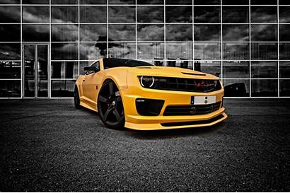 Chevy Camaro Bumblebee Desktop Widescreen Wallpapers