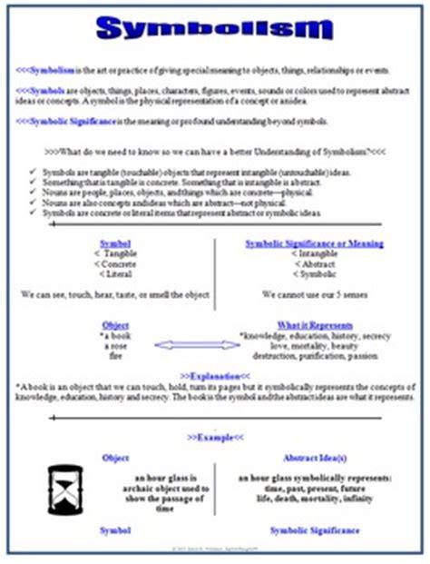 symbolism literary symbols by whitaker teachers pay teachers