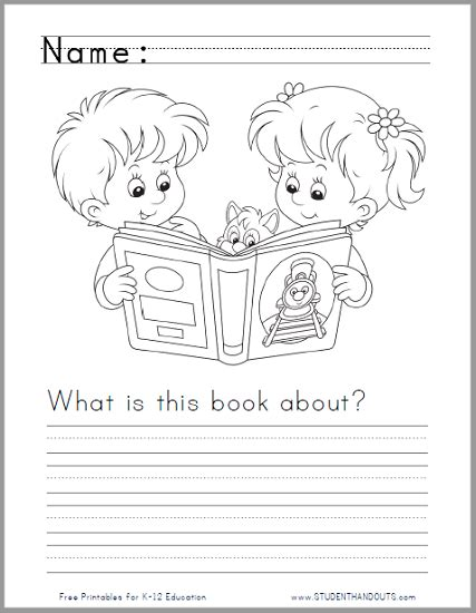 what is this book about writing prompt worksheet for