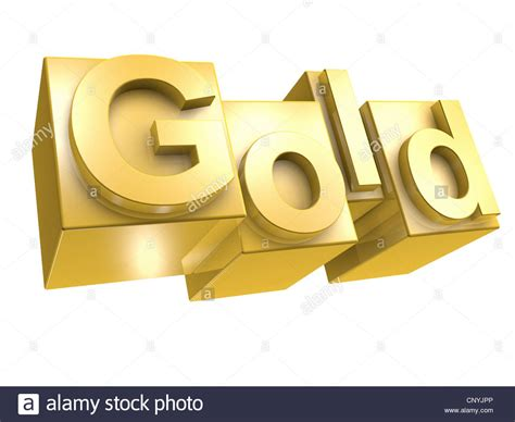 gold alphabet 3d letters stock photography image 29339742 the word gold in golden 3d letters on white background 75864