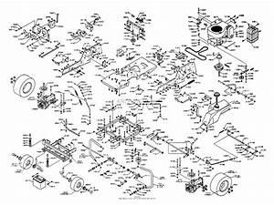 Dixon Ztr 4515b  2001  Parts Diagram For Chassis