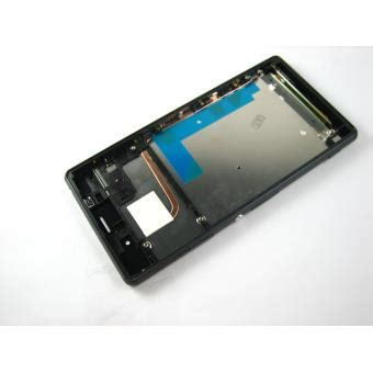 cadre tactile pour ecran ecran lcd et tactile cadre pour sony xperia z3 d6603 d6616 noir achat prix fnac