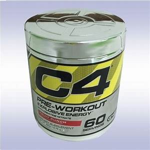 Cellucor C4  60 Servings  Preworkout Creatine Beta Alanine No3 Extreme Energy G4