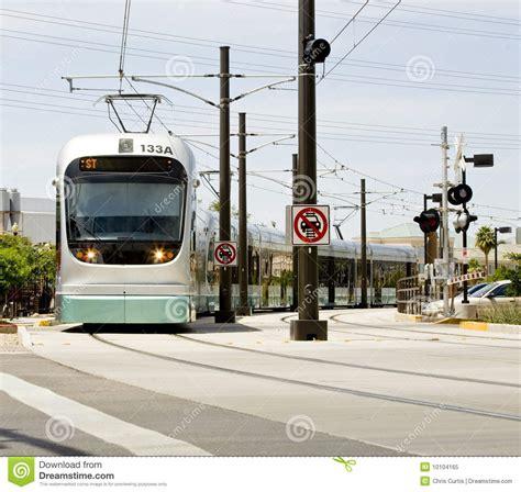 phx light rail metro light rail stock image image 10104165