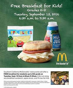 Southern California McDonald's offering free breakfast for ...