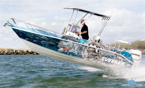 Fishing Boat Graphics Wrap by Wrap Gallery Marine Graphics Ink