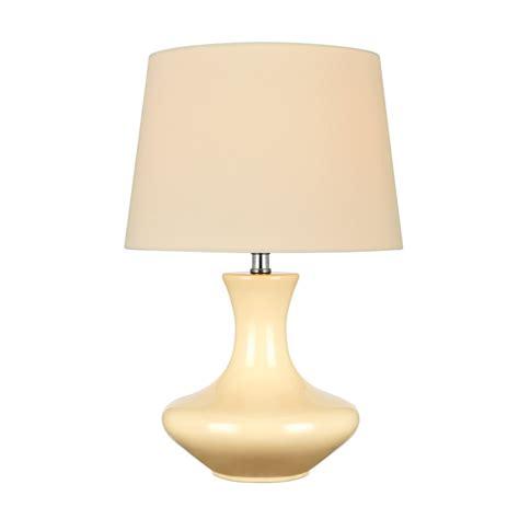lite source ceramic table l lite source nessia 1 light table l in ivory ceramic