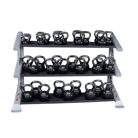 kettlebell rack tier body solid kettlebells