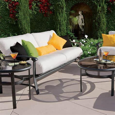 elegant outdoor furniture  stylish terrace design