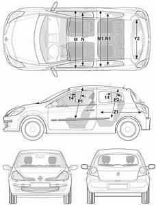 Dimensions Clio 4 : car blueprints renault clio iii blueprints vector drawings clipart and pdf templates ~ Maxctalentgroup.com Avis de Voitures