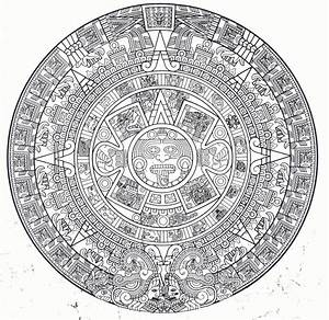 The Aztec Calendar | Odds and ends | Pinterest | Aztec ...