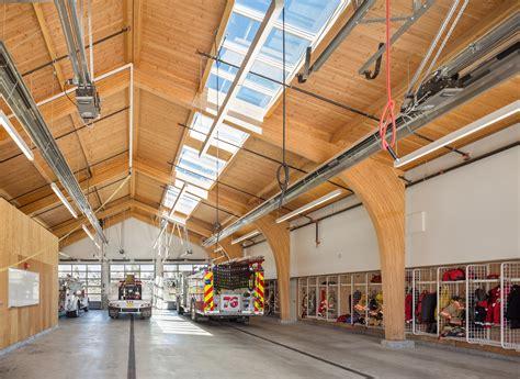 fire station  interior design firm hennebery eddy