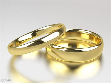 9ct yellow gold his and hers of wedding rings court comfort fit hallmarked ebay
