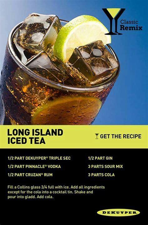 recipe for island iced tea long island iced tea recipe dishmaps