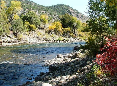 Fall Colors, Arkansas River, Colorado Fall Color Scenery