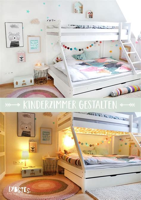 Kinderzimmer Gestalten Rosa by Lybstes Kinderzimmer Gestalten Mit Hochbett Gem 252 Tlicher