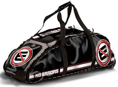 errors  dinger baseball softball bat bag