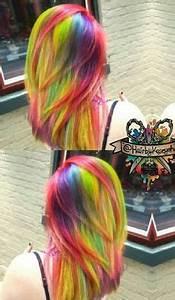Kalel s rainbow hair Hair & Beauty