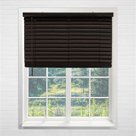 cordless vinyl mini blinds chicology cordless 2 inch vinyl mini blinds window