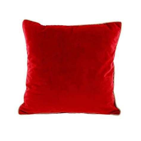 naomi red cushion cm  cm home store