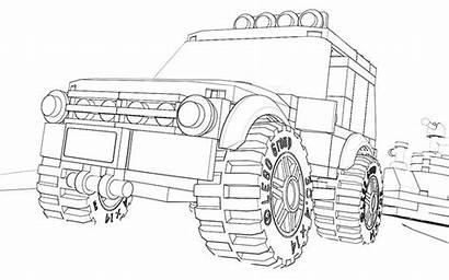 Lego Coloring Suv Ausmalbilder Ausmalen Zum Truck