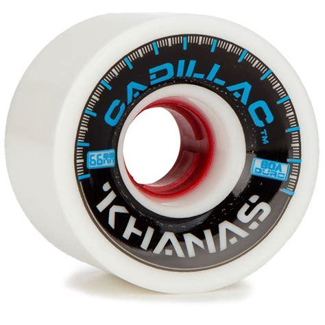 Cadillac Wheels Skateboard by Cadillac Khanas Longboard Wheels 66mm