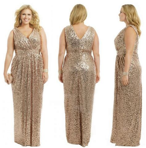 gold bridesmaid dresses gold wedding prom gowns plus size chagne gold bridesmaid dress 2015 sequins