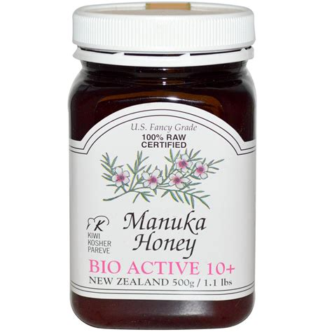 New Zealand Honey, 100% Raw Certified Manuka Honey, Bio