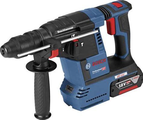 bosch blau bohrhammer bosch professional gbh 18v 26f sds plus akku bohrhammer 18 v 6 ah li ion inkl 2 akku inkl