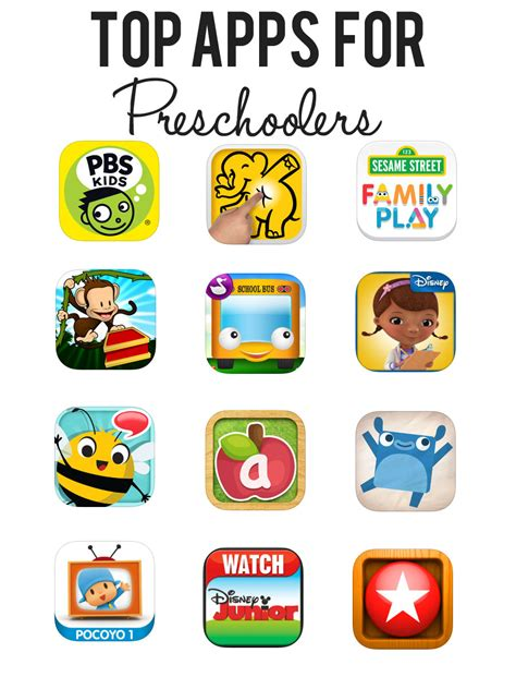 top 10 favorite apps for preschoolers 187 inspiration 914 | top apps for preschoolers1