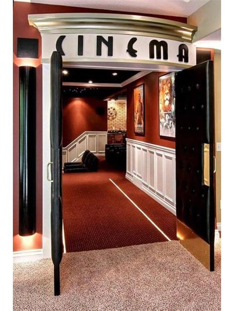 Home Theater Door HT3007 (With images) | Small home