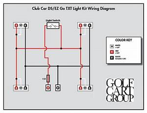 2001 Club Car Headlight Wiring Diagram 24503 Getacd Es