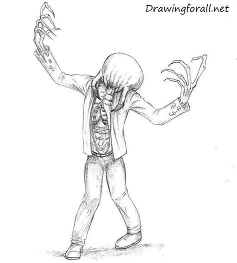 draw zombie   life drawingforallnet