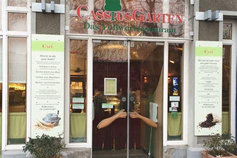 Cassius Garten Bonn  Das Vollwert Restaurant Vamilyde