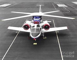 X-wing, Experimental Aircraft Photograph by Nasa
