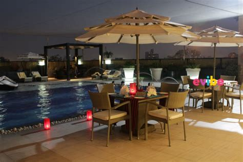 Poolside Dinner by Most Candle Light Dinner Places In Delhi
