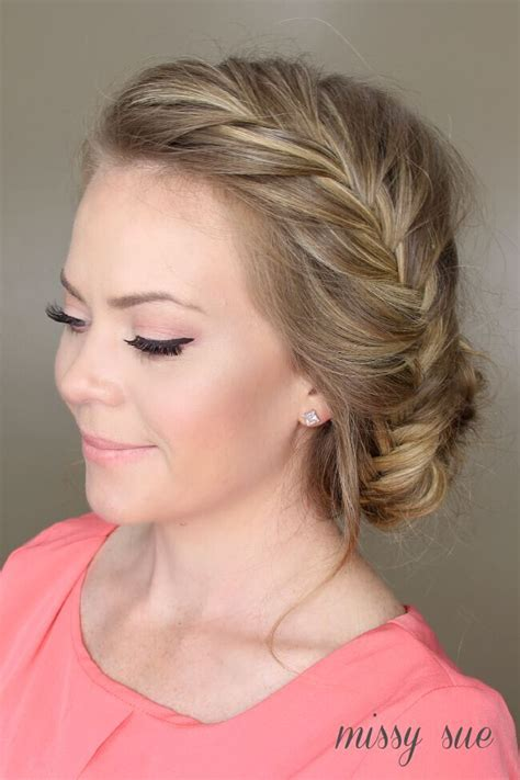 Hairstyles Bun Updos by 21 All New Braid Updo Hairstyles Popular Haircuts