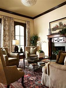 Formal Living Room With Ornate Fireplace | HGTV