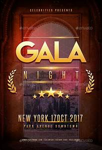 Web Brochure Templates Gala Night Party Flyer By Superboy1 Graphicriver