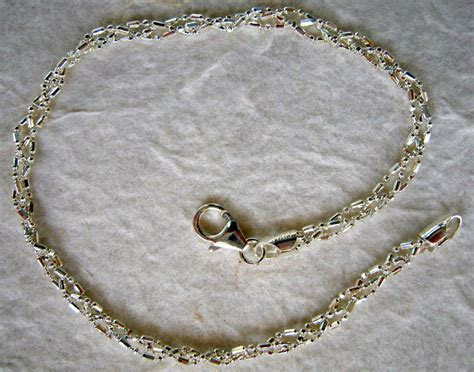 """Italian Made Braided Sterling Silver Ankle Bracelet 9""""  Ebay. Beach Ankle Bracelets. Gold And Diamond Anklet. Glam Earrings. Invisible Set Earrings. Word Rings. Alex And Ani Silver Bangle Bracelets. Bow Necklace. Chocolate Diamond Bands"""